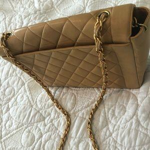 Chanel Lambskin Diana Crossbody bag